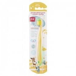 Зубная щетка для детей, Сплат Джуниор антибактериальная с ионами серебра от 2 до 8 лет мягкая