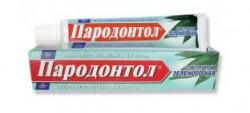 Зубная паста, Пародонтол с экстрактом зеленого чая туба 63 г