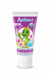Зубная паста для детей, Дракоша гелевая бабл гам 60 мл